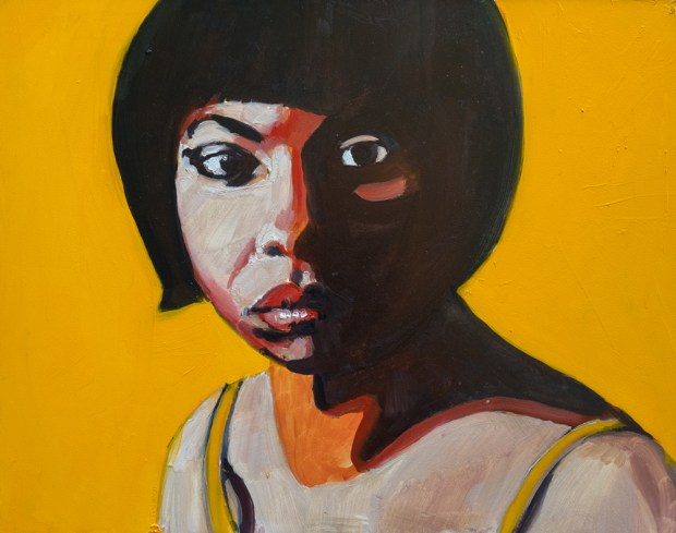 Nina Simone by Allison Adams is a part of the Groundbreaking Girls collection on exhibit at on exhibit through April 14 at OC Contemporary Gallery in San Clemente.