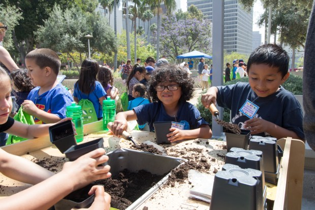 The Earth Day L.A. festival will be held in Grand Park in Los Angeles April 19. (Photo by Javier Guillen for Grand Park/The Music Center).