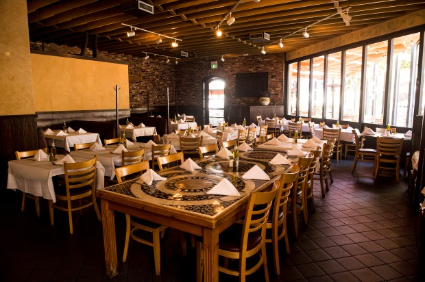 Market City Caffe in Burbank will offer a special tax-free wine dinner April 18. (Photo by Lisa Rose).