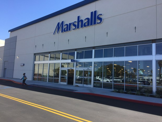 Off-price retailer Marshalls opens a new store in the south end of Del Amo Fashion Center on May 3.