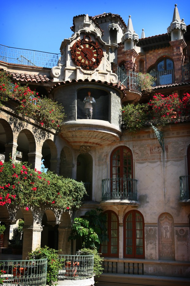 The Mission Inn features a clock with life-size figures.File photo by Kurt Miller, The Press-Enterprise/SCNG