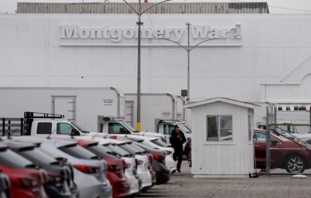 The Montgomery Ward site in Panorama City , on Roscoe Blvd. west of Van Nuys Blvd., will become a mixed-use development, by ICON. (Photo by Dean Musgrove, Los Angeles Daily News/SCNG)
