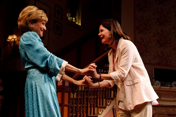 """""""The Sisters Rosensweig"""" is on stage at South Coast Repertory in Costa Mesa through June 2. (Photo by Debora Robinson, South Coast Repertory)"""