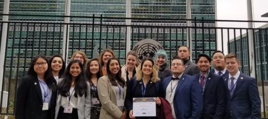 The Riverside City College Model U.N. team (Courtesy Photo)