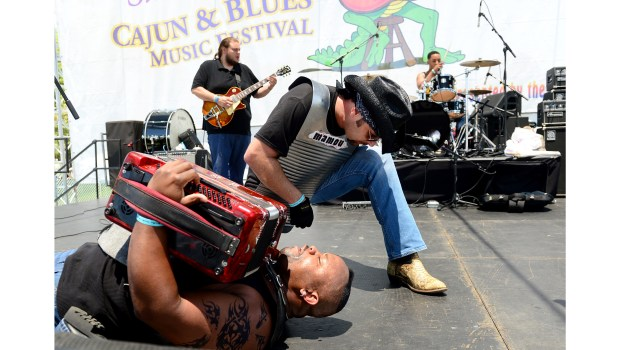 Dwayne Dopsie and the Zydeco Hellraisers in 2017 at the Simi Valley Cajun & Blues Music Festival. (Photo by Dean Musgrove, Los Angeles Daily News/SCNG)