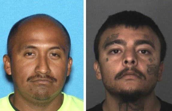 From left, Alejandro Cheluca Rojas and Ruben Angel Chavez (Courtesy photos)