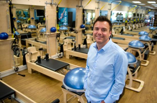 Club Pilates owner Anthony Geisler inside the Club Pilates in Villa Park.(FILE PHOTO: SAM GANGWER, ORANGE COUNTY REGISTER)