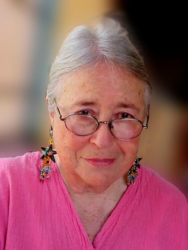 Riverside artist Ada Passaro is 93 years old.(Photo courtesy of Ada Passaro)