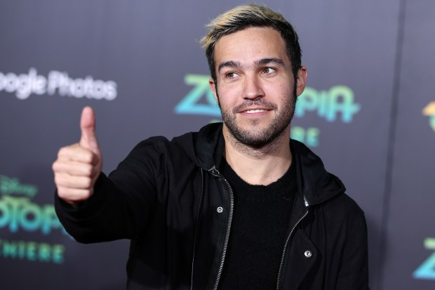 "Fall Out Boy bassist Pete Wentz took to Instagram on Sunday, May 13, 2018, to announce the birth of his daughter with partner Meagan Camper. He wrote he's grateful Marvel Jane Wentz is here, and she's ""ready to takeover the world."" (Photo by John Salangsang/Invision/AP, File)"