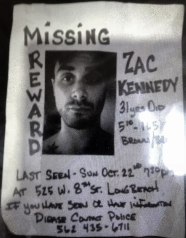 Remains found in California hunt for Zachary Kennedy