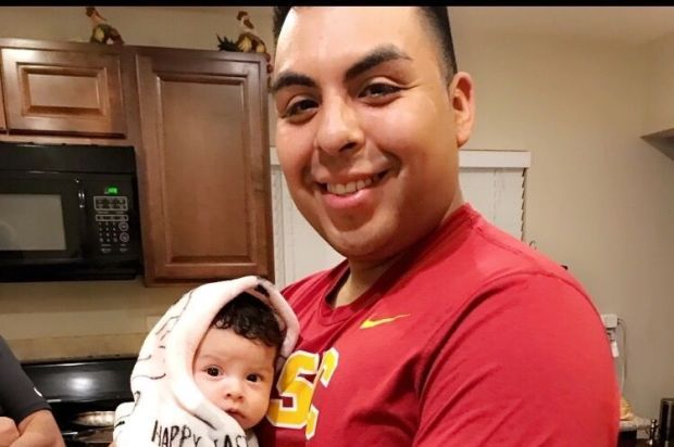 Family members of Guillermo Hernandez identified him as the man who was killed in a double shooting in Encino early Sunday, May 13, 2017. (Hernandez family photo courtesy of GoFundMe)