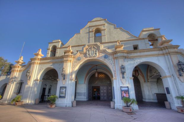The 1927 San Gabriel Mission Playhouse will be part of the Last Remaining Seats series for the first time this year. (Photo courtesy Los Angeles Conservancy)