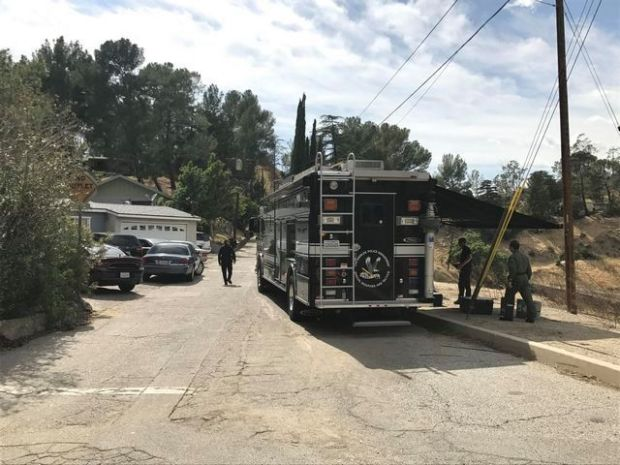 The hilltop location of a home in Sunland complicated the LAPD's effort Monday, May 8, 2017, to flush out a suspect holed up inside, said Chief Charlie Beck. (File Photo by David Crane/SCNG)