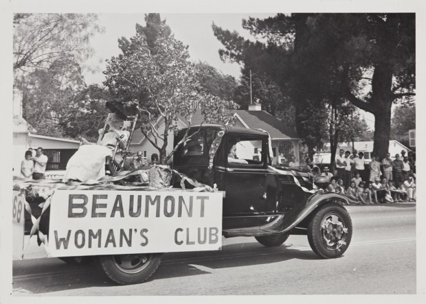 The Beaumont Woman's Club is one of many charitable groups that have benefited from the Cherry Festival over the years. (Photo courtesy Beaumont Cherry Festival Association)