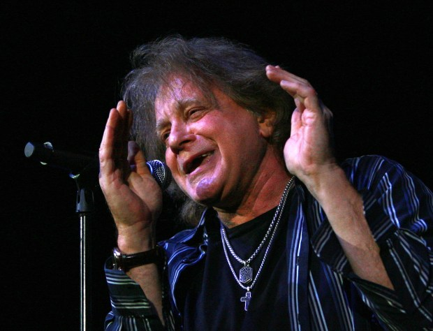 Eddie Money, shown here playing Citizens Business Bank Arena in Ontario in 2014, is playing the the Beaumont Cherry Festival Saturday, June 2. He is the latest known name to play to festival. (File photo by David Bauman, The Press-Enterprise/SCNG)
