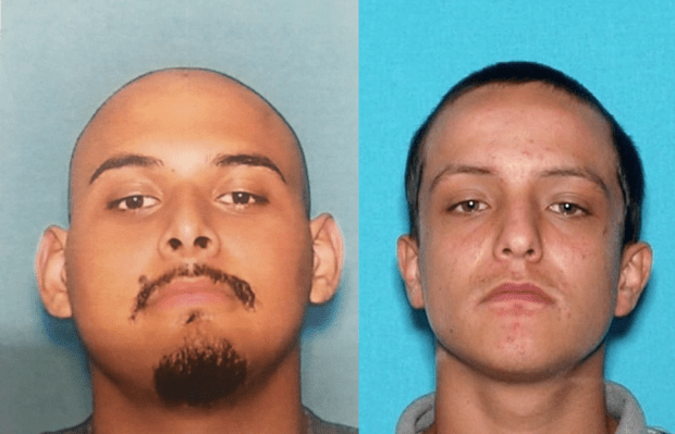 Alonso Rodriguez Jr., 19, (left) and Mario Delacruz, 20, both of Hemet. (Photos courtesy of the Hemet Police Department)