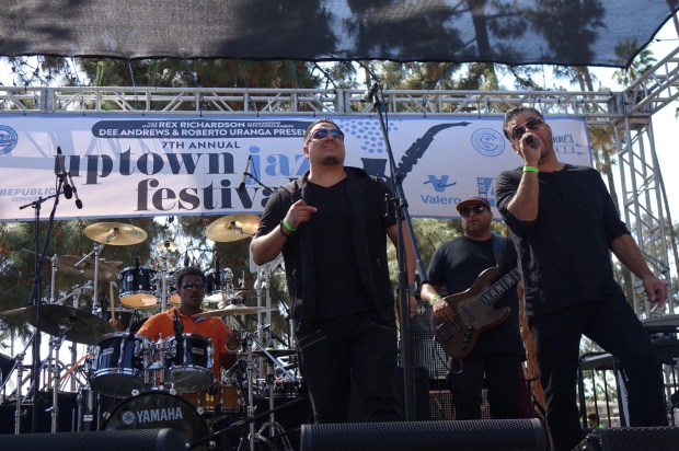 Soul group DW3 (who have performed at every Uptown Jazz Festival to date) were at the Seventh Annual Uptown Jazz Festival on Saturday, June 9, 2018 at Houghton Park. (PHOTO: GERONIMO QUITORIANO)