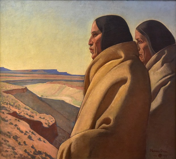The Men of the Red Earth, by Maynard Dixon. (Donated by the Gardena High Class of 1944)