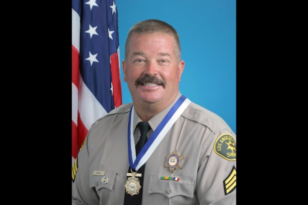 Los Angeles Sheriff's Department Sgt. Steve Owen was gunned down Oct. 5, 2016, in Lancaster. (Photo courtesy of LASD)