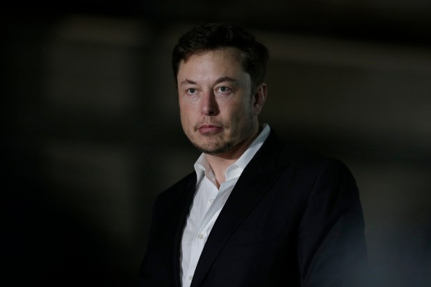 Elon Musk sent an email to Tesla staff that said a disgruntled Tesla employee broke into the company's manufacturing operating system and sent highly sensitive data to unknown third parties. (AP Photo/Kiichiro Sato)