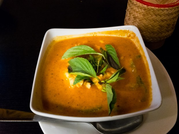 Panang curry at Hot and Spicy Thai in Huntington Beach. (Photo by Brad A. Johnson, Orange County Register/SCNG)