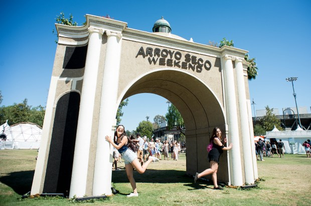 Arroyo Seco Weekend festival on Sunday, June 25, 2017 in Pasadena. (Photo by Sarah Reingewirtz, Pasadena Star-News/SCNG)