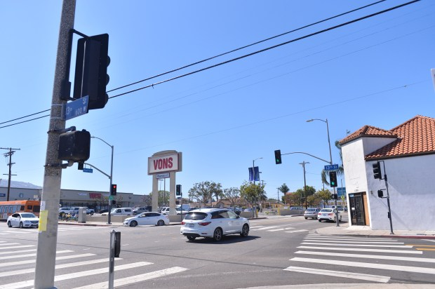A section including this area of Gaffey Street and 13th in San Pedro was dubbed Historic Little Italy on Wednesday, June 27, 2018 by the Los Angeles its Council. (Photo by Brittany Murray, Press Telegram/SCNG)