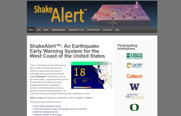 LA's planned earthquake-warning app is slated to use data from the ShakeAlert system to give residents advance warning of seismic activity.