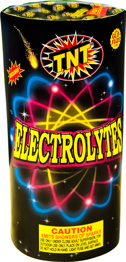 TNT's Electrolytes goes from meh to OMG at the 50-second mark thanks to a final half-minute of intense crackling sparks. (Photo courtesy of TNT)