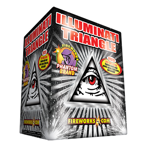 Phantom's Illuminati Triangle wins this year's Deal of the Season award with its more than 3 minute running time and 2 for $39.99 price. (Photo courtesy of Phantom)