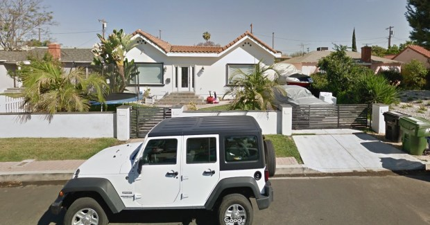 Seven people were injured, five by gunfire, early Sunday morning during a house party at 12719 Tiara St. in Valley Village. The person who threw the party had rented the home via Airbnb. (Google Street View)