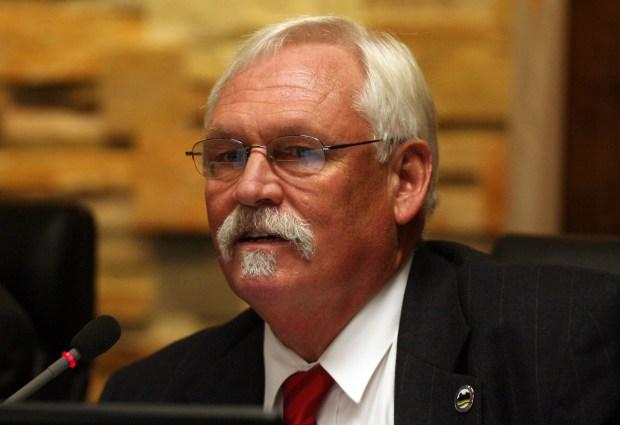 Moreno Valley City Councilman Jeffrey Giba.(File photo)