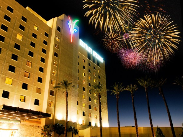 Fantasy Springs Resort Casino has a pre-Independence Day fireworks display, on July 3 at 8:45 p.m. (Courtesy photo)