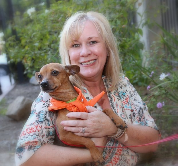 Carrie Ridgway is executive director of the Mary S. Roberts Pet Adoption Center in Riverside.(Photo courtesy of the Mary S. Roberts Pet Adoption Center)