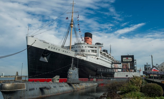 You can visit the Queen Mary before heading to the Smookin' Grooves festival on June 16.. (Photo by Thomas R. Cordova Press-Telegram/SCNG)