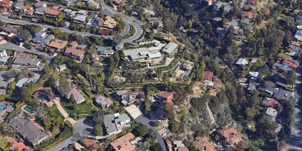 Murphy house aerial