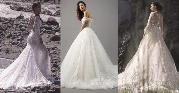 CocoMelody offers complete bridal wear at a savings. (Photo courtesy of CocoMelody).