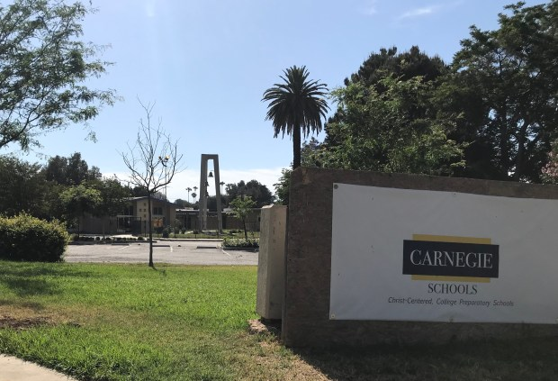 Parents and teachers have complained of problems at Carnegie Schools Riverside, but administrators say they are working to solve the school's financial issues.(Photo by Ryan Hagen, staff)