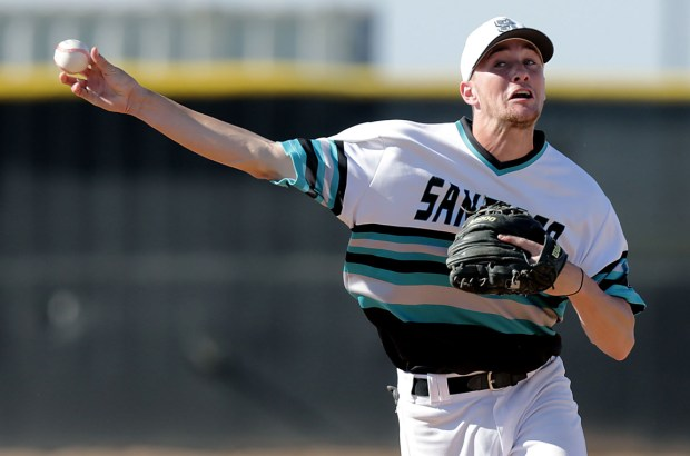 Corona Santiago shortstop Brice Turang was selected in the first round of the MLB Draft. (Photo by Terry Pierson, Riverside Press Enterprise/SCNg)