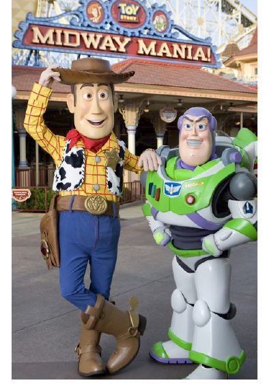Woody and Buzz Lightyear launch into action for Pixar Fest at Disneyland and Disney's California Adventure.