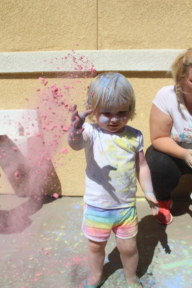 temecula preschoolers stage color run for charity press enterprise