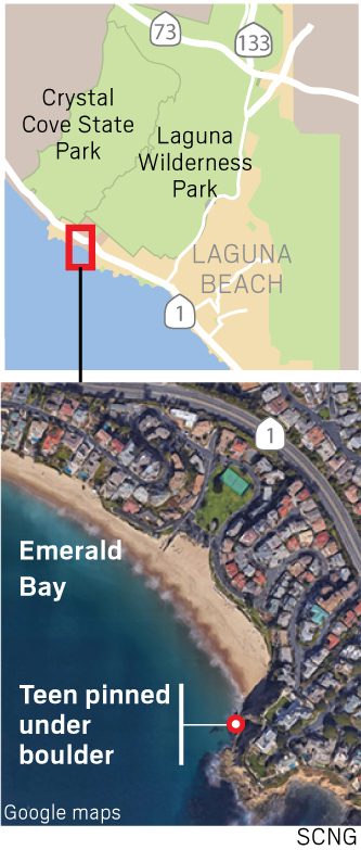 Doctors discharge teen after reattaching arm severed in Laguna Beach