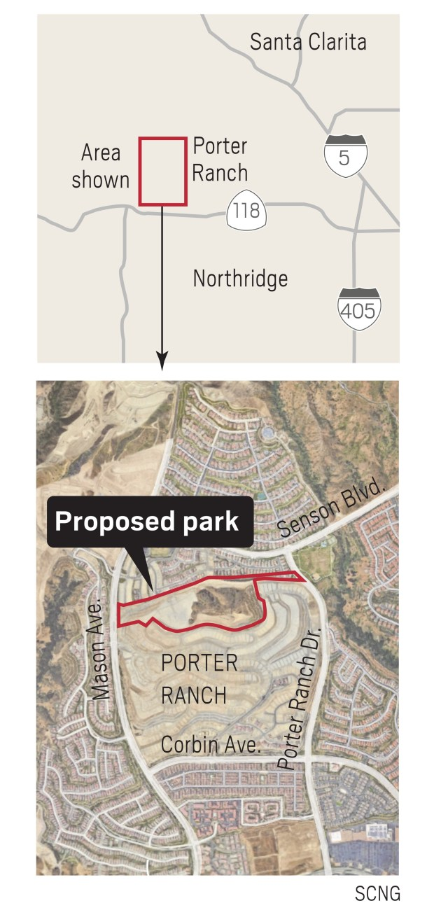 After the Aliso Canyon gas leak, a massive Porter Ranch park could be a boon. But not all agree