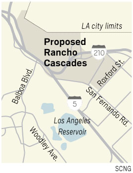 Portion Of Sylmar To Be Renamed Rancho Cascades Daily News