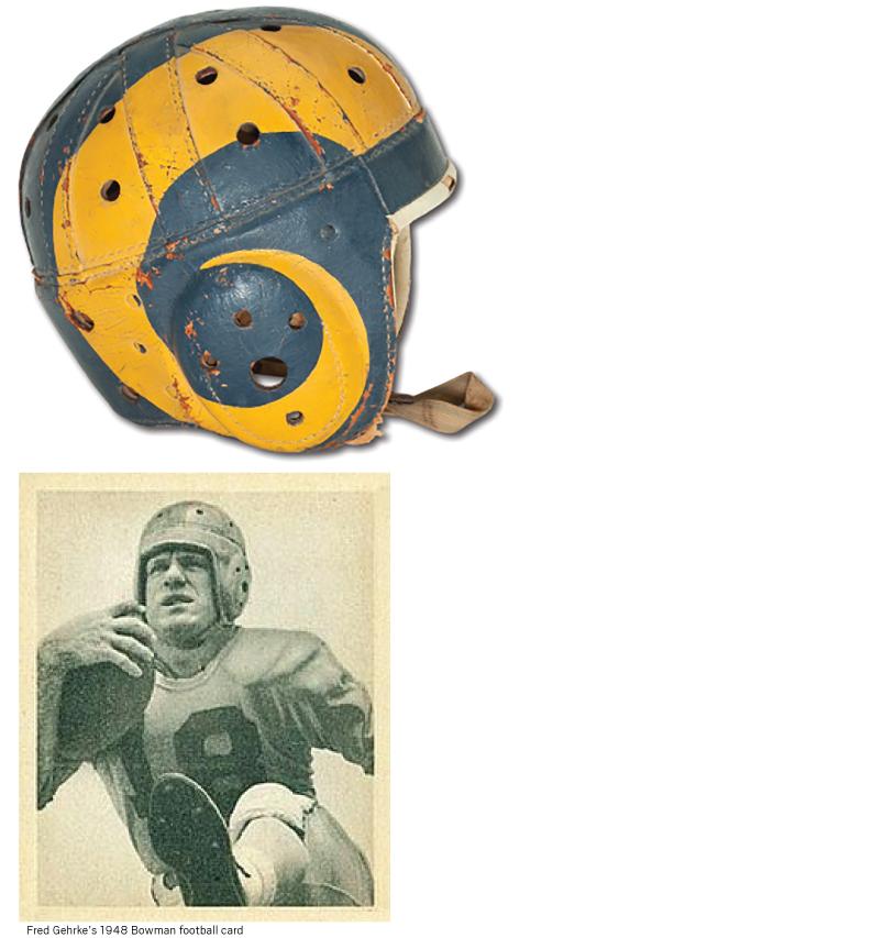 1948 Rams helmet