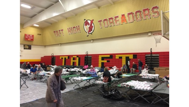 Shelters for Woolsey fire victims are available for people and pets