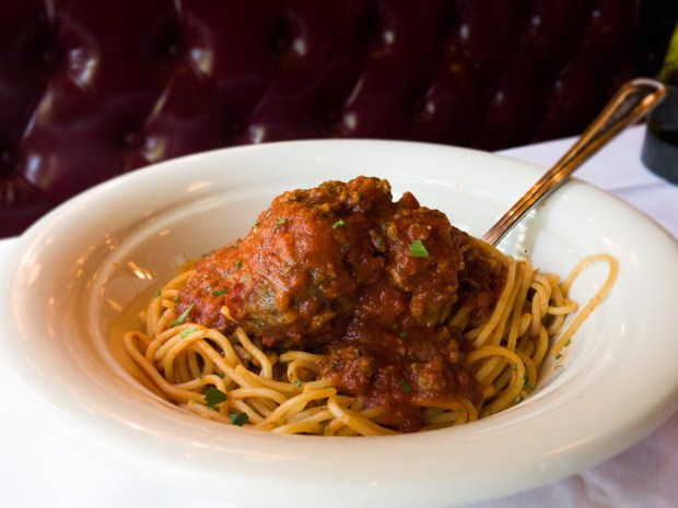 Review: Which Italian restaurant chain makes the best spaghetti and meatballs?