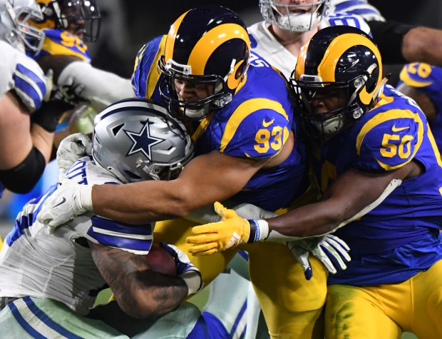 Ndamukong Suh makes his presence felt as Rams push for Super Bowl