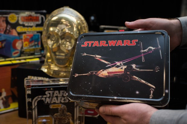 Rare Star Wars, superhero toys and much more to be auctioned