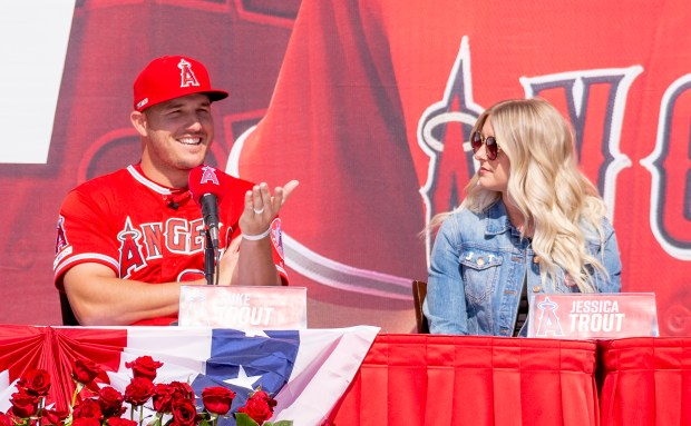 Mike Trout is a believer in the Angels' long-term plan